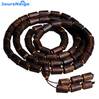 Fine JoursNeige Natural Authentic Incense Wood Bracelets Buddha Beads Hand String Lucky For Men Wood Bracelets Fashion Jewelry