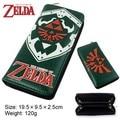 Legend of Zelda Adventure Time Soul Eater Estudiante Bolsa de Cremallera Bolsa de Juguete de Regalo de La Pluma Del Monedero Larga Cartera