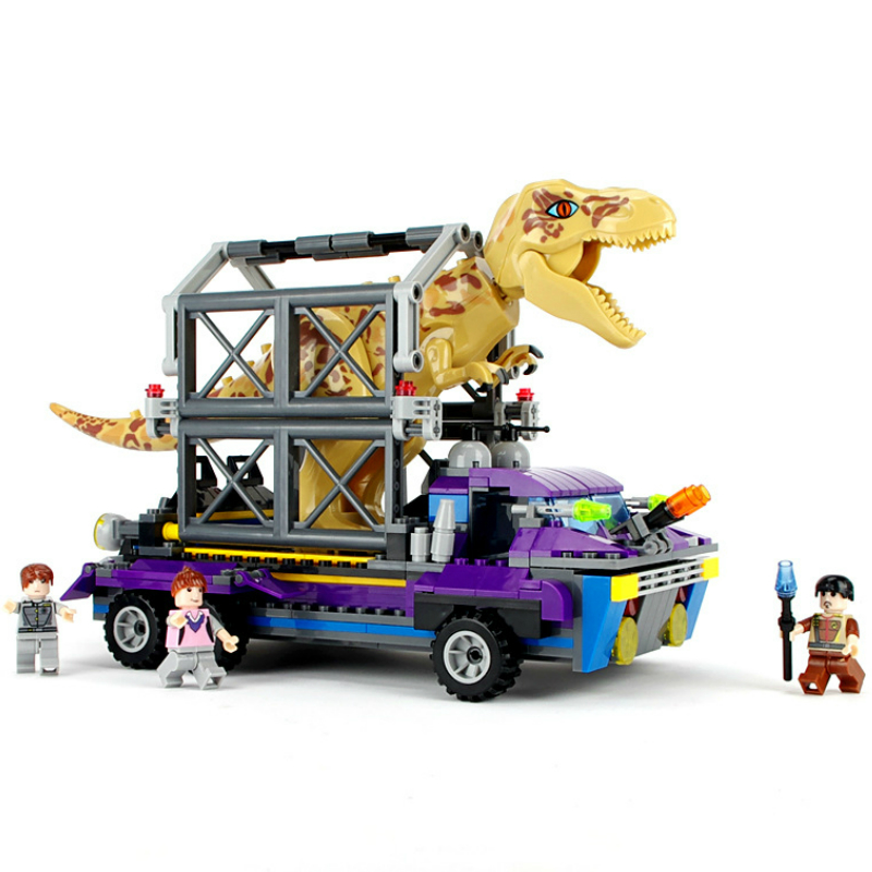 Jurassic World 2 Dinosaur Building Blocks Tyrannosaurus Dinosaur Figures Assemble Classic Compatible 75927 31058 75919