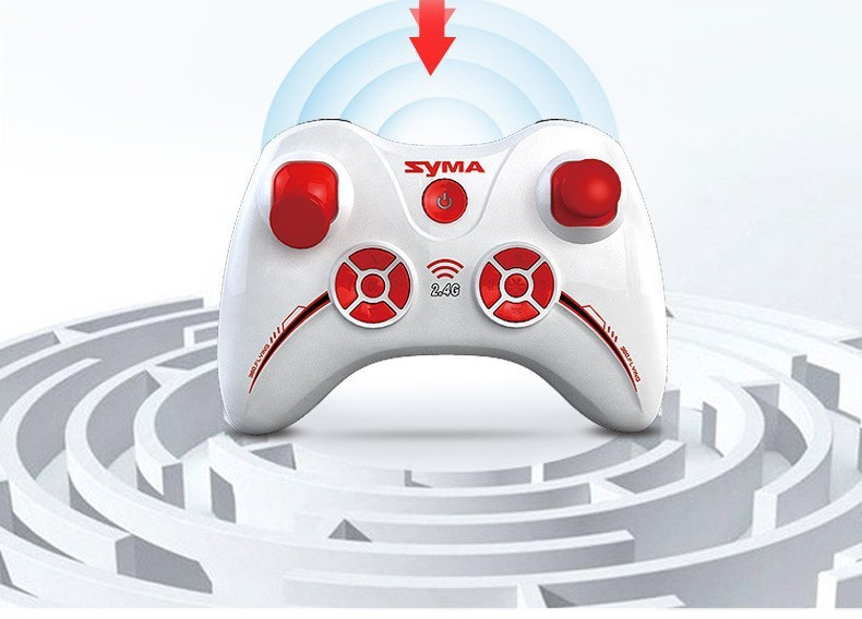 5 2015 New Arrival Syma X13 RC Mini Drone Helicopter  2.4G 4CH 6-Axis Quadcopter With 3D Flips Remote Control Toy