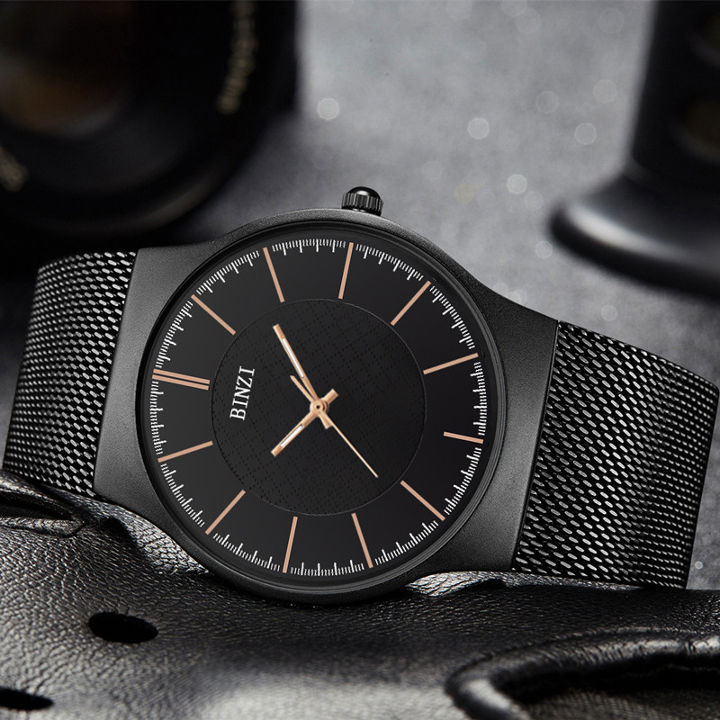 цены Quartz Watch Men 2018 Luxury Brand Watches Waterproof Full Steel Mesh Men Business Wrist Watch Zegarki Meskie Relogio Masculino