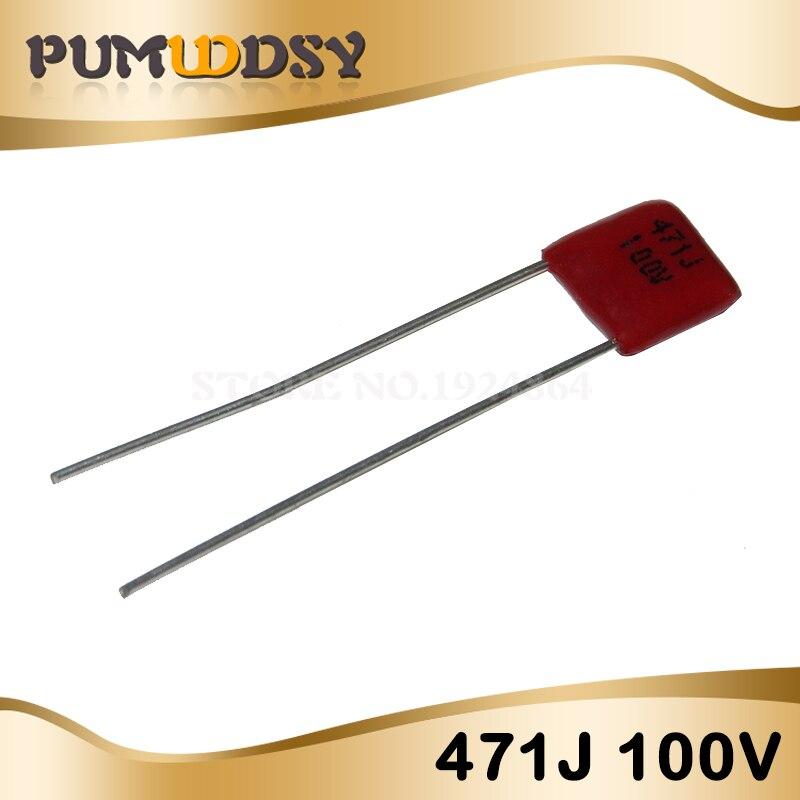 50pcs 471 Ceramic Capacitor 470pF Free Shipping From USA 50V