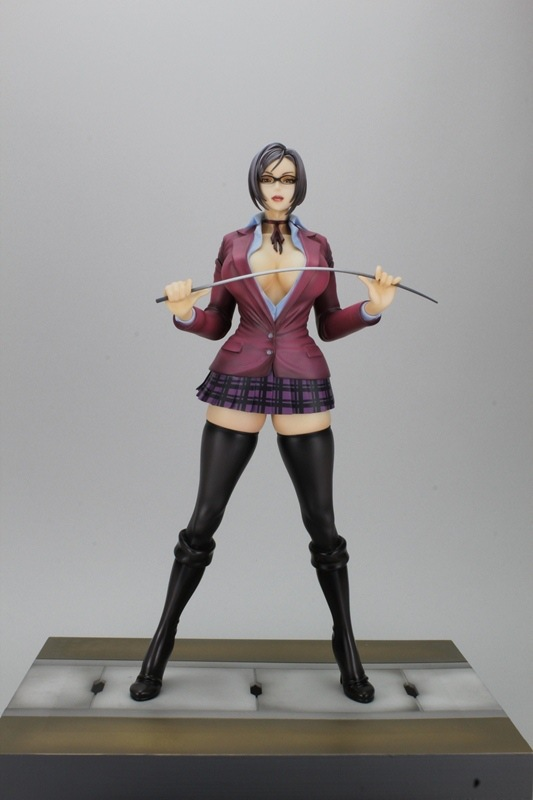 ФОТО Kangoku Gakuen Prison School Shiraki Meiko Big Boobs Sexy 23CM PVC Action Figure Toy Collection Model