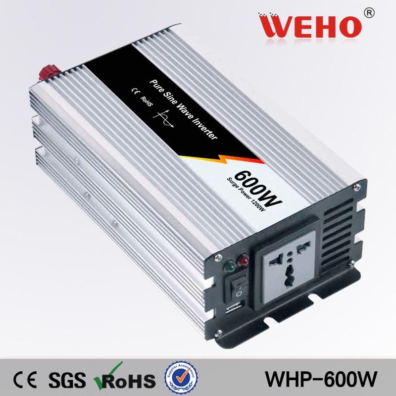 (WHP-600-241)600W 24v dc to ac 110v Pure Sine Wave inverter