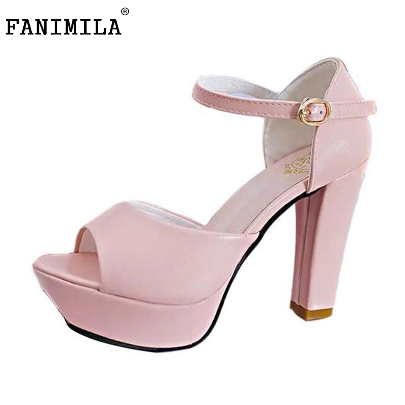woman ankle strap sexy shoes women thick high heel sandals peep open toe brand quality fashion lady footwear size 35-39 WE0121 woman ankle wrap dress shoes women wedges sandals clip toe brand quality fashion roman beading ladies footwear size 36 40 we0087