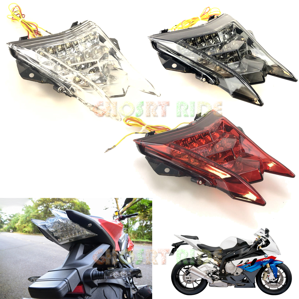 Rear Tail Light Brake Turn Signals Integrated Led Light For BMW S1000RR K46 2009 2010 2011 2012 2013 2014 2018