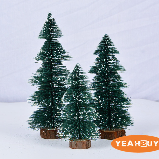 10cm 15cm 20cm 25cm green artificial small christmas tree new year gift decorations christmas ornaments wholesale