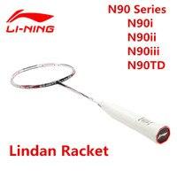 Оригинальный высокого класса внутри Ракетки для бадминтона n90i/II/III/td Lindan Бадминтон ракетки Li Ning уровень конкуренции 3D break Бесплатный L324