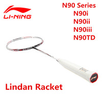 High end Lining Badminton Rackets N90i/ii/iii/TD Lindan Badminton Racquet Li Ning Competition Level 3D Break Free L324OLA