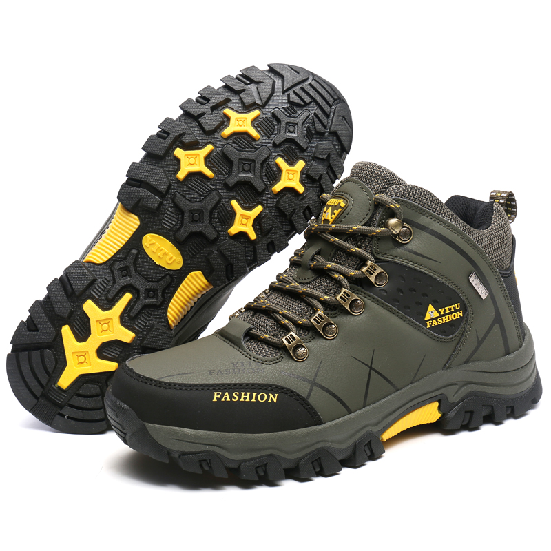 Men Outdoor Hiking Shoes Anti-Slip Women Breathable Waterproof Trekking Shoes Athletic Climbing Sport Sneakers Mountain Boots hifeos men winter outdoor hiking shoes couple anti slip breathable boots mesh couple climbing mountaineer low top sneakers m067