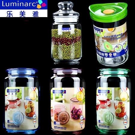Package mail luminarc seal pot dried fruit storage tank large grains