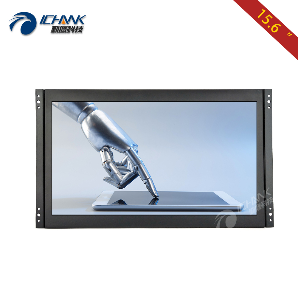 ZK156TN 562 15 6 inch 1920x1080p IPS Widescreen Embedded Open Frame Built in Speaker LCD Monitor
