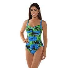Maillots de bain femmes une pièce Floral Froncé Tummy Control une pièce  maillot de bain bikini maillot de bain maillot de bain f. 95c5d401ac37