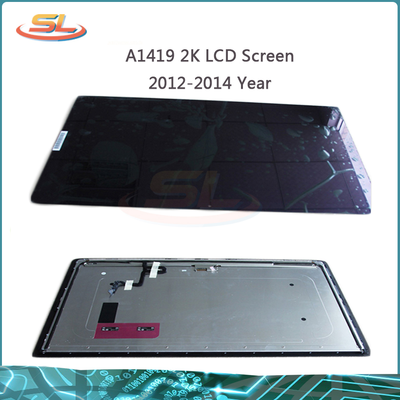Original used for iMac A1419 27 2K LED LCD Screen Panel Front Glass Full Assembly LM270WQ1