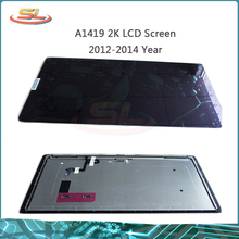 Original used for iMac A1419 27″ 2K LED LCD Screen Panel Front Glass Full Assembly LM270WQ1(SD)(F1) or (F2) 2012 2013