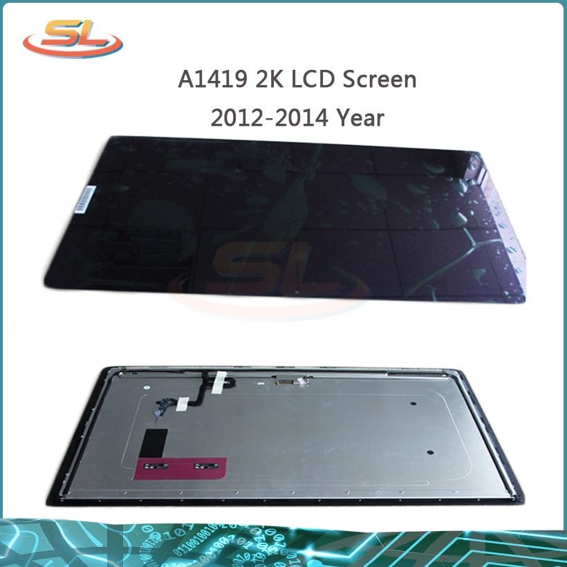 Originale per iMac A1419 27 2 K LCD A LED Dello Schermo del Pannello Frontale di Vetro di Montaggio Completo LM270WQ1 (SD) (F1) o (F2) 2012 2013Originale per iMac A1419 27 2 K LCD A LED Dello Schermo del Pannello Frontale di Vetro di Montaggio Completo LM270WQ1 (SD) (F1) o (F2) 2012 2013