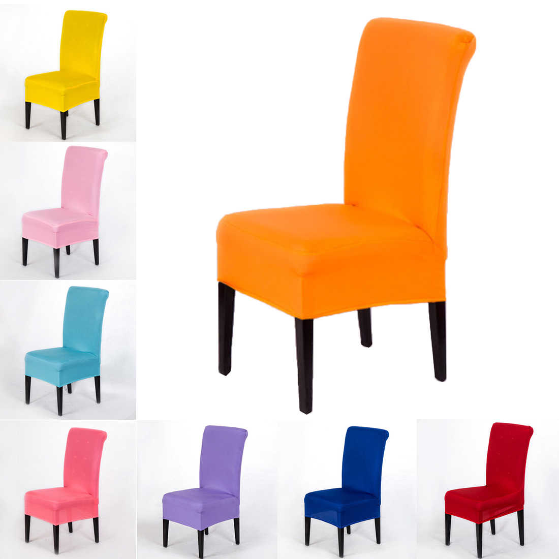 1pc modern spandex elastic stretch furniture covers housse de chaise slipcover seat case seat covers for