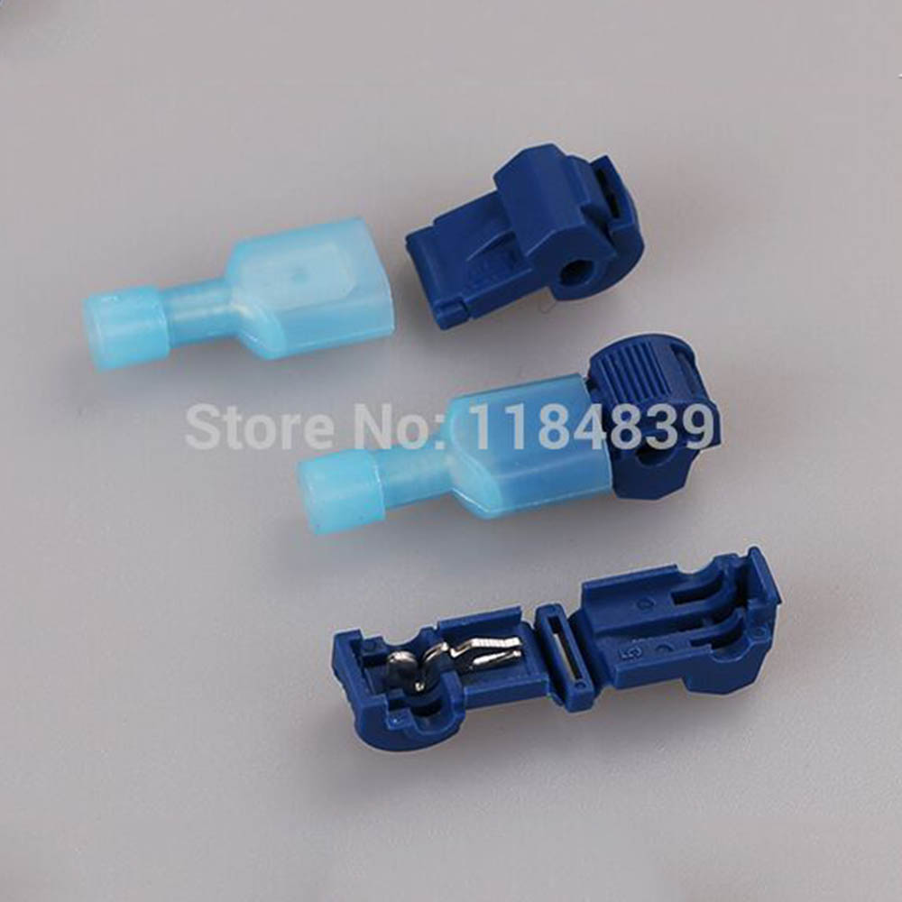 10PCS Scotch Lock Quick Splice Crimp Terminal Wire Convenient Connector For 1.2-2.5mm Line Free Shipping free shipping 10pcs 2869 01 ami