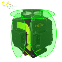 muli 3D 12 Lines Rotating laser level Green or Red Laser Beam Line Super Powerful Waterproof Anti Drop Laser Levels