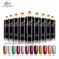 YIMANER colorful Lights series nail gel polish 15ML Long Lasting Manicure Soak-off lacquer Nail Glue Nail Polish finger ink73-84