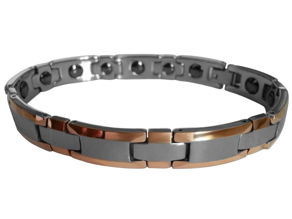present Tungsten Carbide Bracelets with Rose Gold plating /TUBR1021
