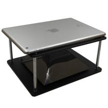 הולוגרפית Tablet PC 3D הקרנה פירמידת DIY עבור מקסימום 12 אינץ ipad 3 Hatsune MV מקרן