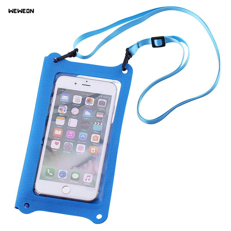 Style; In Intelligent Lucdo Outdoor Sport Waterproof Dry Pack Pvc Swimming Drifting Beach Waterproof Pouch Dry Waist Bag Phone Cover Protective Bag Fashionable