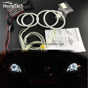 6d125d592874 HochiTech ccfl angel eyes kit white 6000 k ccfl halo rings headlight For Ford  Focus