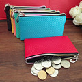 Multifunction PU Leather Coin Purses 2015 New Mini zipper coin wallets Unisex Small coin pouch female purse phone bag #PT0074
