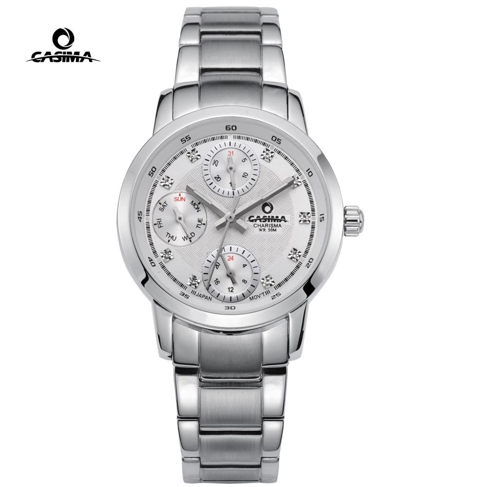 d7cc65eeeec Mulheres Relógios mulheres casima marca de luxo Formato do Estojo   Redondo