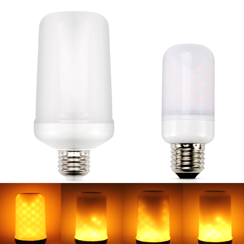 E26 Led Flame Lamps E27 E14 LED Flame Effect Light Bulb 110V 220V Flickering Emulation Fire Lights 5W Decorative Lamp