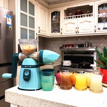 Multifunction Portable DIY Manual Juicer Fresh Apple Orange wheatgrass juicer Machine Health Kitchen Tools extracteur 2
