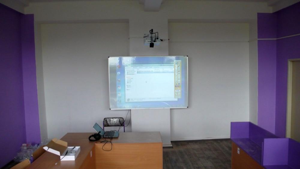 Горячая портативная белая доска инфракрасная интерактивная доска с одной ручкой для обучения и встречи