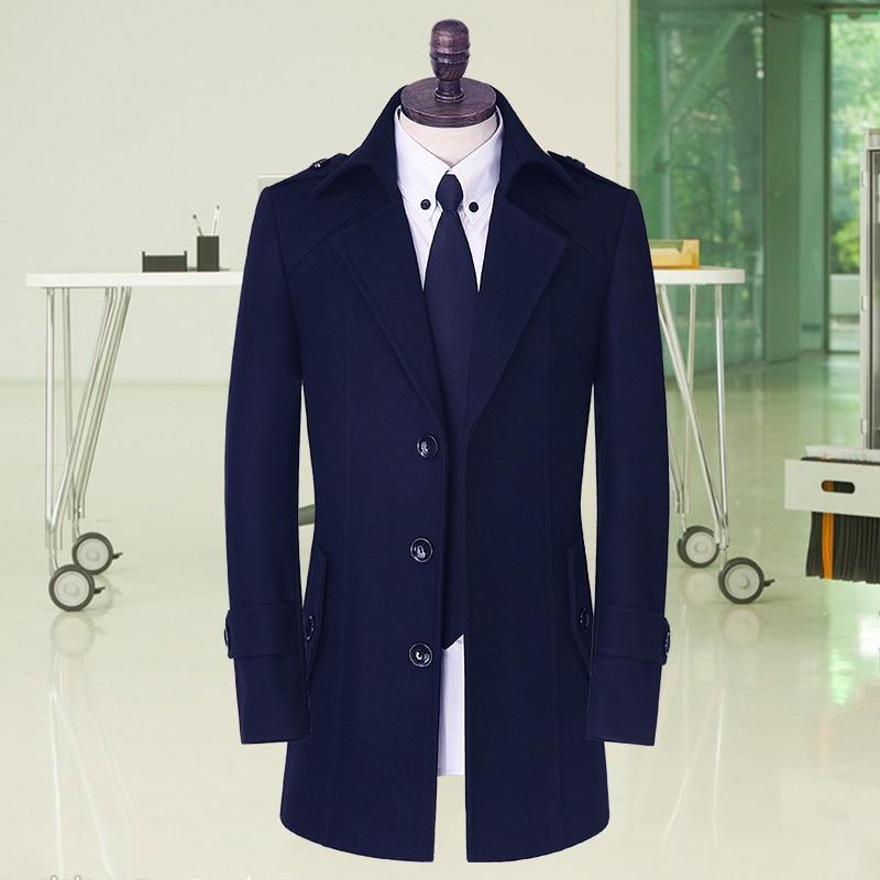 2017 Neue Ankunft Frühjahr Herrenbekleidung Casual Oberbekleidung Mode Hohe Qualität Männlichen Graben Plus Größe S-5xl 6xl 7xl 8xl 9xl 10xl Reines Und Mildes Aroma
