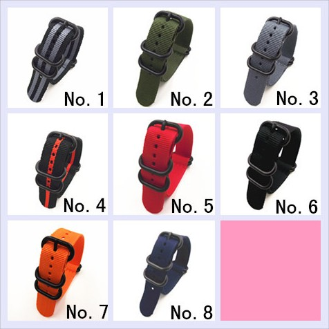 1PCS Heavy duty nylon straps 20mm 22mm 24mm Nylon Watch band NATO strap zulu strap watch strap ring buckle-6905 дырокол deli heavy duty e0130