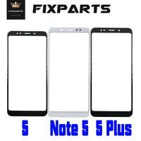 Nota 5 pantalla táctil pantalla frontal del Panel táctil de cristal táctil Nota 5 Pro 5 Xiaomi Redmi Note 5 lente digitalizador Note5 sensor táctil 5 Plus