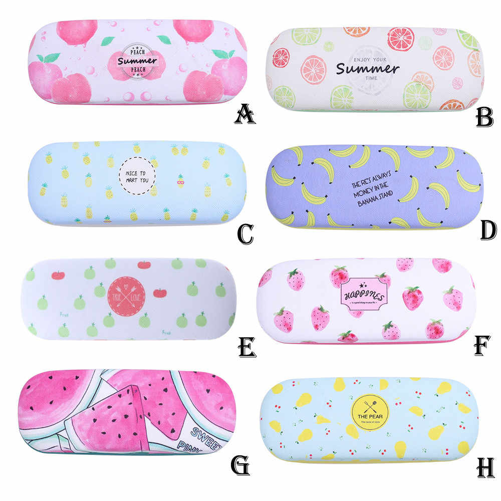 2019 Hot Selling Protable Fruit Sunglasses Hard Eye Glasses Case Eyewear Protector Box Pouch Bag Storage Box  Container New