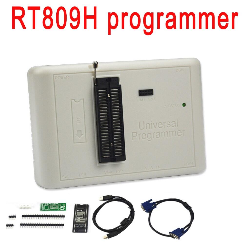 Оригинальный RT809H EMMC-Nand FLASH очень быстро универсальный программатор лучше, чем RT809F/TL866CS/TL866A/NAND