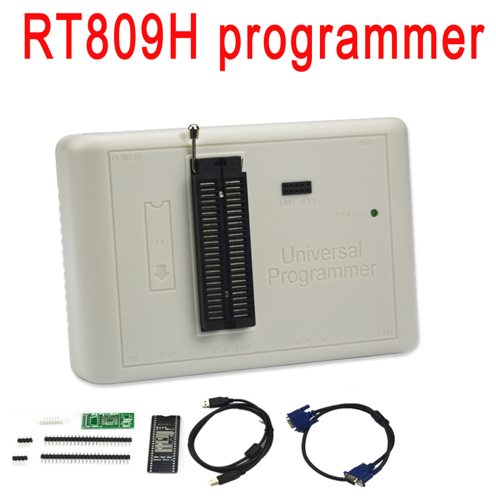 ORIGINAL RT809H EMMC Nand FLASH Extremely fast universal Programmer better than RT809F/TL866CS/TL866A /NAND-in Integrated Circuits from Electronic Components & Supplies    1