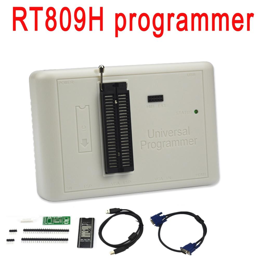 ORIGINALE RT809H EMMC-FLASH Nand Estremamente veloce Programmatore universale meglio di RT809F/TL866CS/TL866A/NAND