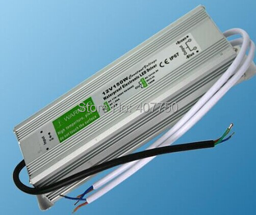 IP67 waterproof Switching power supply 150W output voltage 12V/<font><b>24VDC</b></font> led <font><b>adapters</b></font> used for lighting projects image