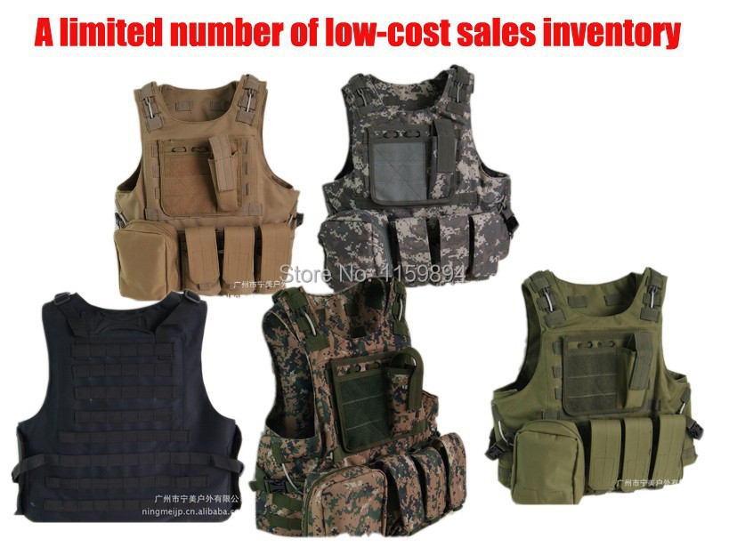 High Quality! Men Military Tactics Tactical Colete Masculino Colete Tatico Gilet Tactique Wild Amphibious Vest Black Green Vest