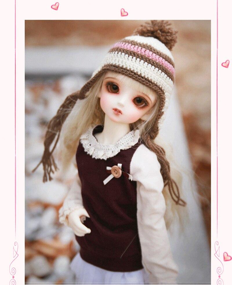 BJD doll 1/4 slim fashion model children high quality toys best birthday gift free eye doll