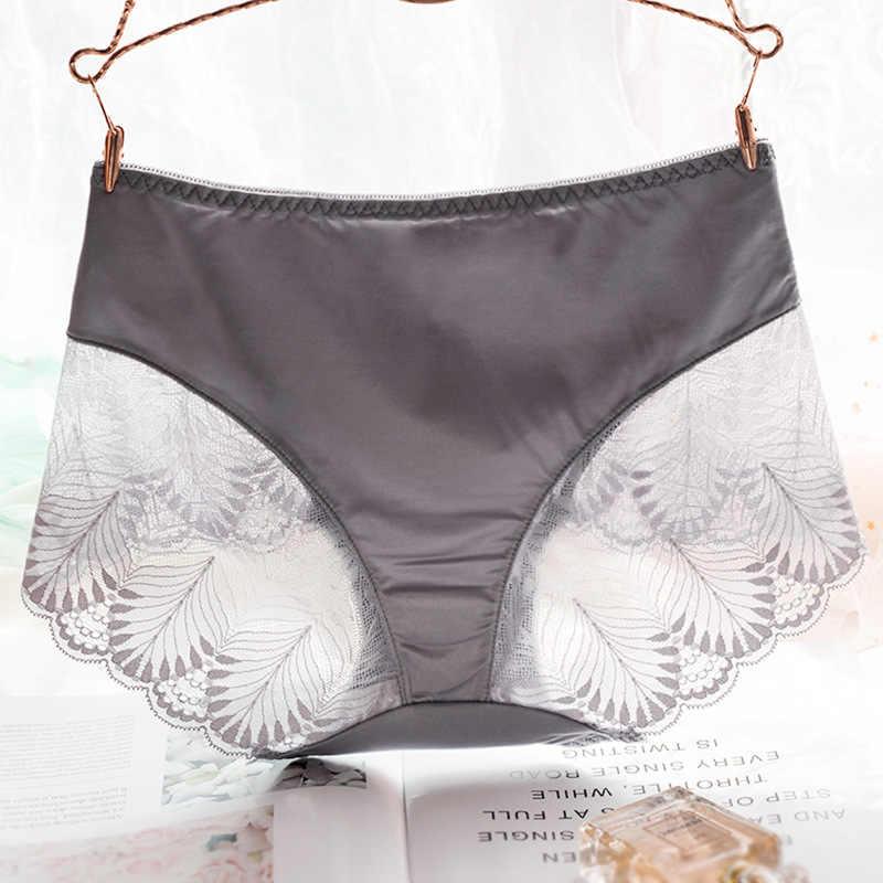... Women s Briefs Breathable Transparent Lingerie Panties Sexy Lace Female  Mid-Rise Underwear Women Cotton crotchless ... dd852b16e