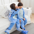 Kigurumi Stitch Onesie Kids Lilo And Stitch Pajamas For Boys Girls Kigurumi Animal jumpsuit Carnival Party Anime Stitch costumes