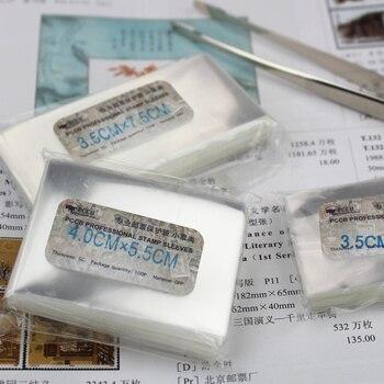 PCCB pieczęć rękawy, kolekcja ochrony torba OPP, różnych mały znaczek 10 rozmiarów,