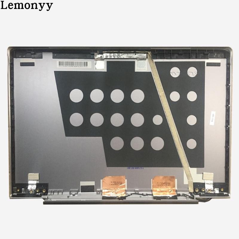 Ноутбук ЖК-дисплей верхняя крышка для Lenovo u330 U330T 3CLZ5LCLV30 с сенсорным серебро задняя крышка