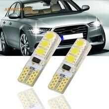 2 x T10 W5W T16 светодиодные лампы для парковки Sidelight нет ошибок для AUDI A2 A3 8L 8 P A4 B5 B6 A6 4B 4F A8 D2 TT Q3 Q5 Q7 C5 C6 C7 S2 S4