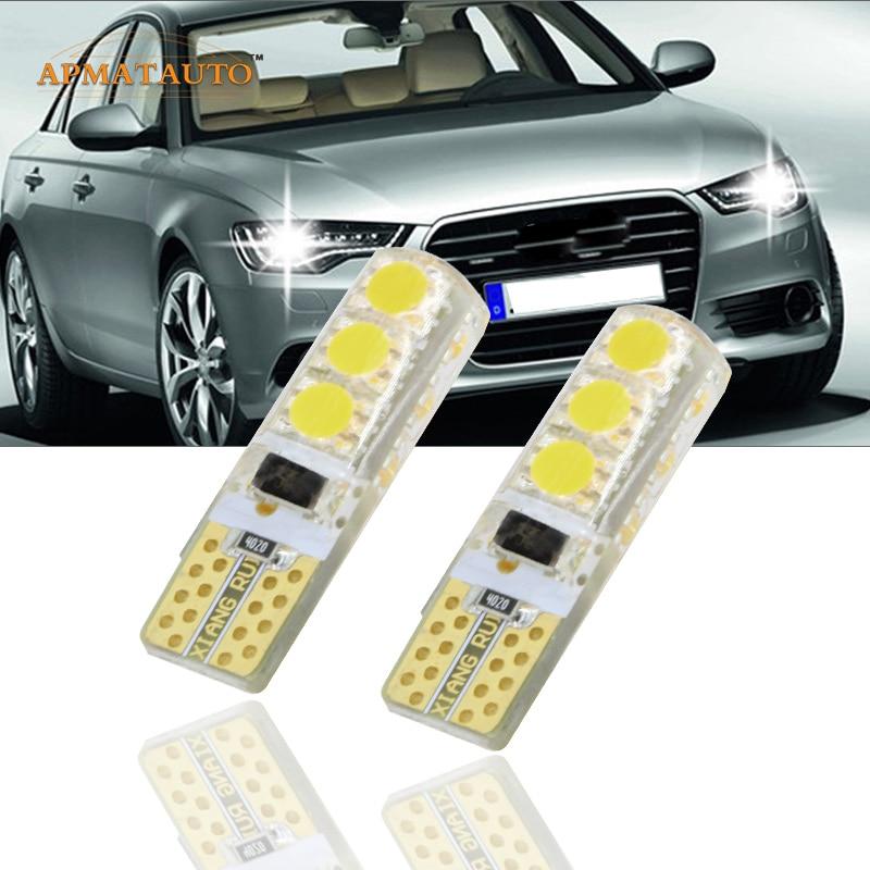 2 x T10 W5W T16 LED parkolófények Sidelight Nincs hiba AUDI A2 A3 8L 8P A4 B5 B6 A6 4B 4F A8 D2 TT Q3 Q5 Q7 C5 C6 C7 S2 S4