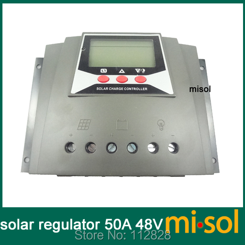solar regulator 50a 48v; solar charge controller 50a 48v; solar panel battery charger 50a 48v misol solar regulator 50a 48v solar charge controller pwm for solar panel battery charging